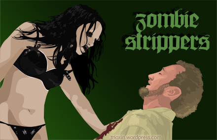 Vector Image for movie Zombie Strippers