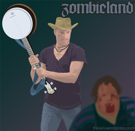 Vector image for movie Zombieland