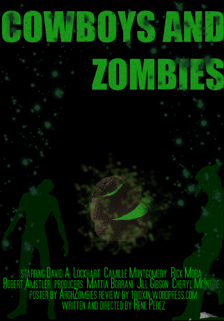 cowboys and zombies movie poster